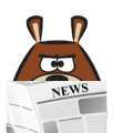 Bearzie with News