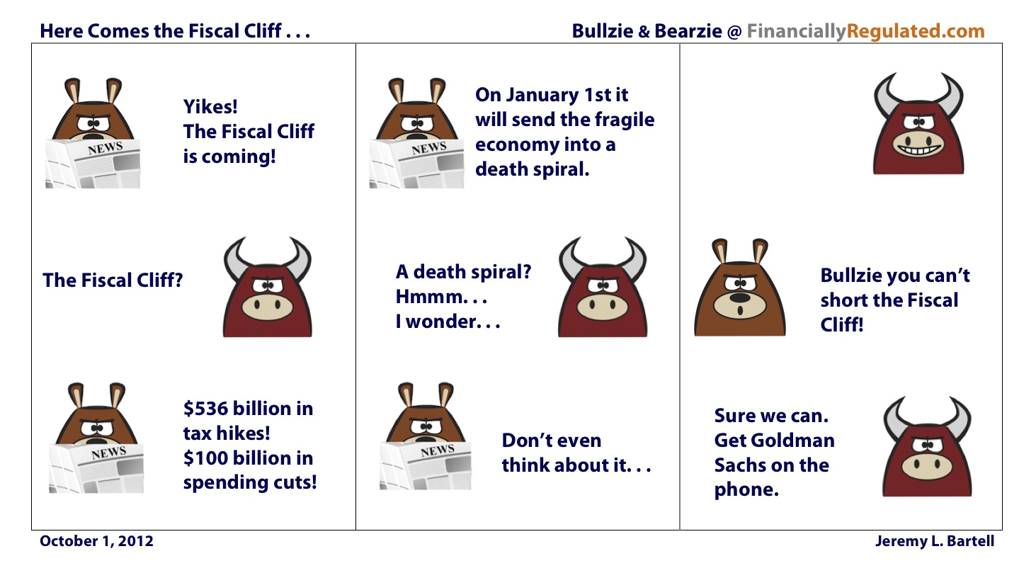 Here Comes the Fiscal Cliff
